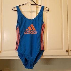 New large Adidas one piece logo swimsuit